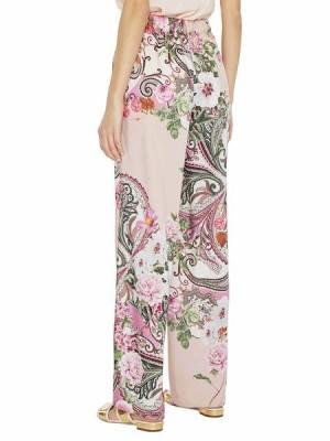Широкие брюки с принтом «пейсли»