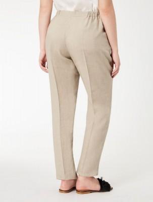 брюки из натурального льна