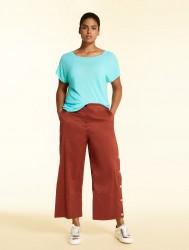Хлопковые брюки из поплина