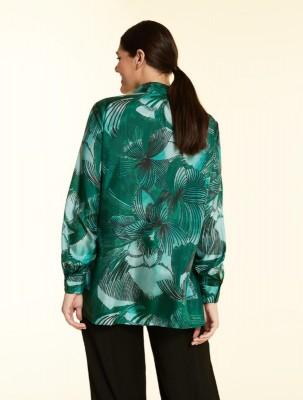 Рубашка с принтом haboutai из шелка