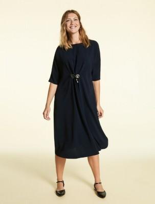 Мягкое расклешенное платье