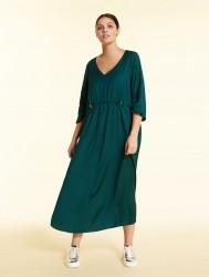 Длинное платье из струящейся вискозы