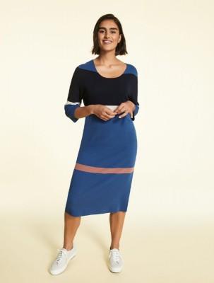 Платье из вискозы и нейлона