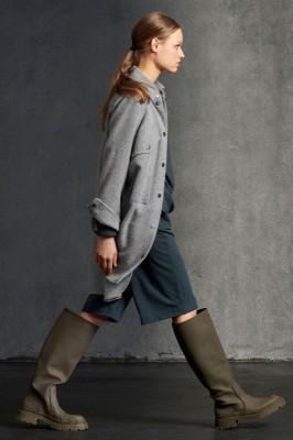 Пальто-Рубашка из смесовой шерсти