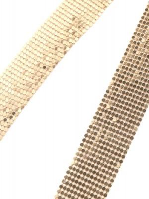 Ожерелье из металла с подвесками