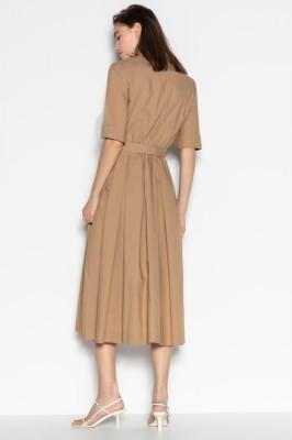 платье - РУБАШКА С ПОЯСОМ