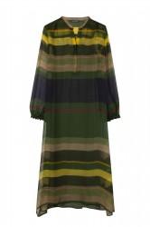 платье в стиле бохо из натурального шелка
