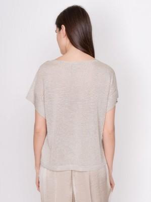 Блуза из легкого джерси