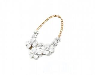 Ожерелье с незабудками