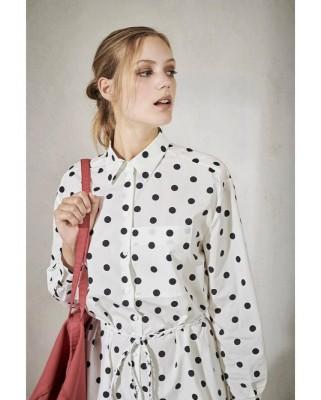 Платье рубашка с принтом  Ballerina Dot
