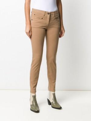 джинсы скинни средней посадки